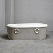 Professional artificial stone bathtub