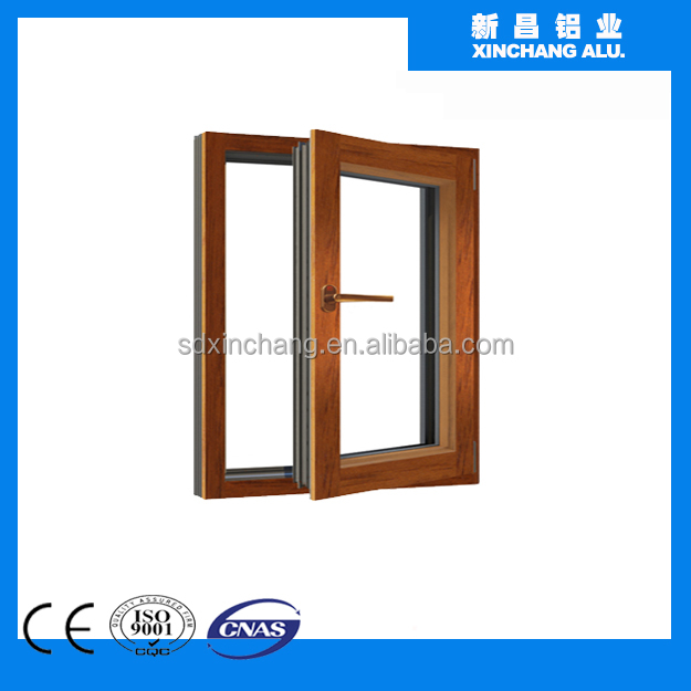 Aluminium Wood Composite Window Extrusion Profiles