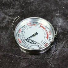 ManLaw Large Diameter BBQ Grill Surface Thermometer