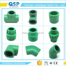 JUNXIANG hot sale China Supplier customized all types of ppr pipe fitting