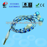 2013 Hotest Sales Phone/MP3/MP4 player use corlorful and retractable earphone cable