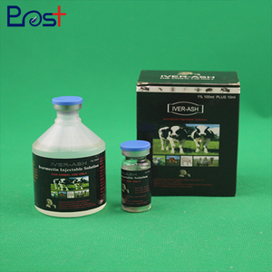High Quality Liquid 1% 100ml+10ml Ivermectin Injection