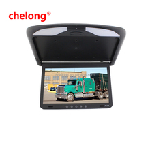 15 inch Roof Monitor Mount LCD Monitor with IR Flipdown 156AV