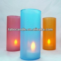 Flickering Flameless votive Electric Led Tea Light Candle