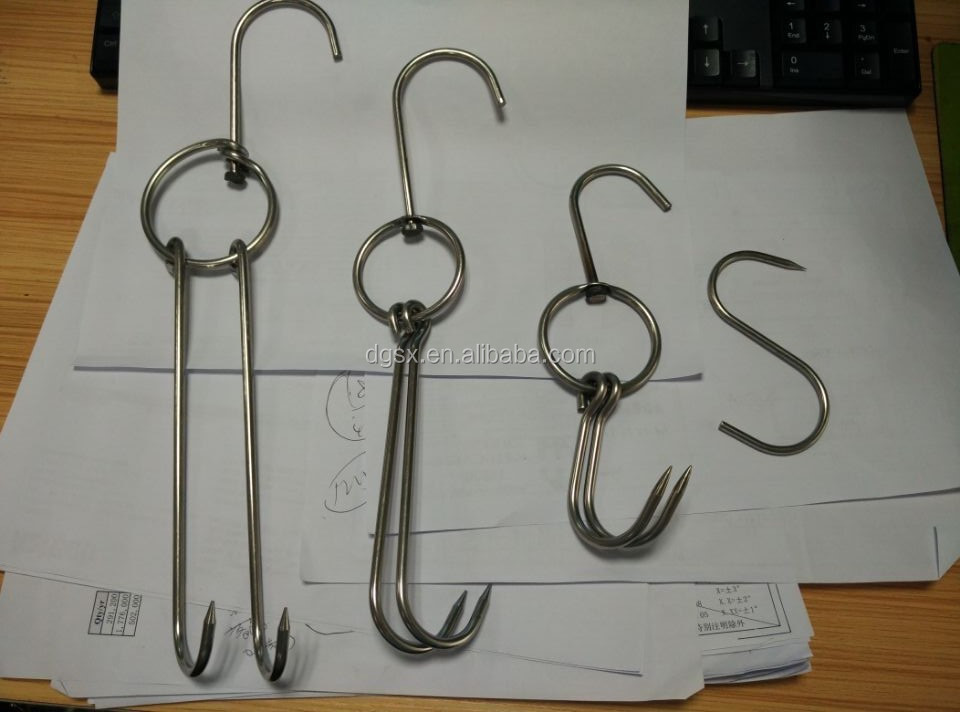 stainless steel meat hooks suppliers 22 results for butchering operations large and small, the sausage maker carries sturdy, stainless steel meat hooks for hanging game and bacon bulk-friendly prices we promote local foods and centuries-old traditions of gastronomy and food production techniques we can help you live a simpler and more rewarding.