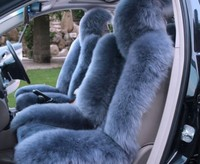 China Unique Leather Sheep Skin Car Seat Cover