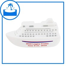 supplier cheap promotional gift imprinted logo custom PU Cruise Ship Stress Toy