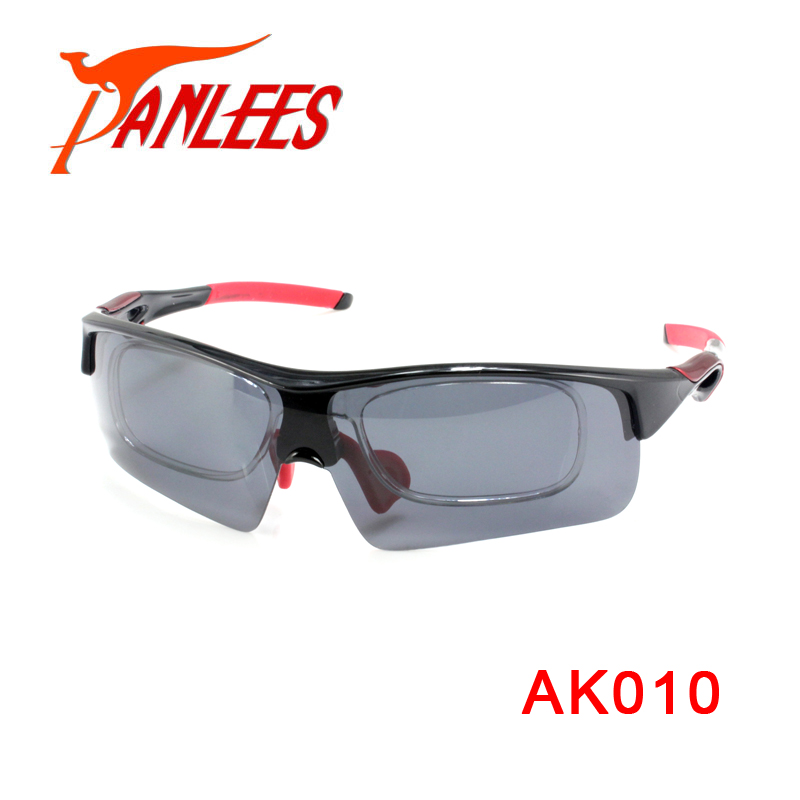 Panlees Top Quality Professional Safety Sunglasses 5 Lens RX Optical Insert Safety Glasses Shoot Glasses