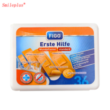 Professional Maker 41pcs Plastic First Aid box passed CE and FDA made in hongyu