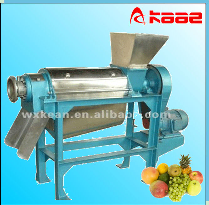Hot sale industrial helix juice extractor for fuit and vegetable