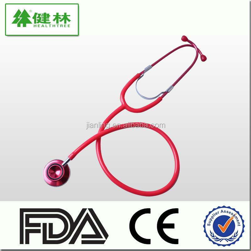 doctor use duplex Dual head pediatric stethoscope with aneroid sphygmomanometer