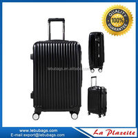 Wholesale new film trolley luggage set, cabin size flight luggage travel bags