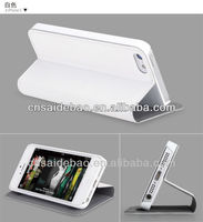 Hot sell leather case for iphone5