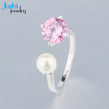 silver jewelry ring single stone hong kong designs pearl ring