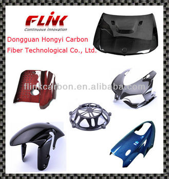 Carbon Fiber Parts for Motorcycle and Car