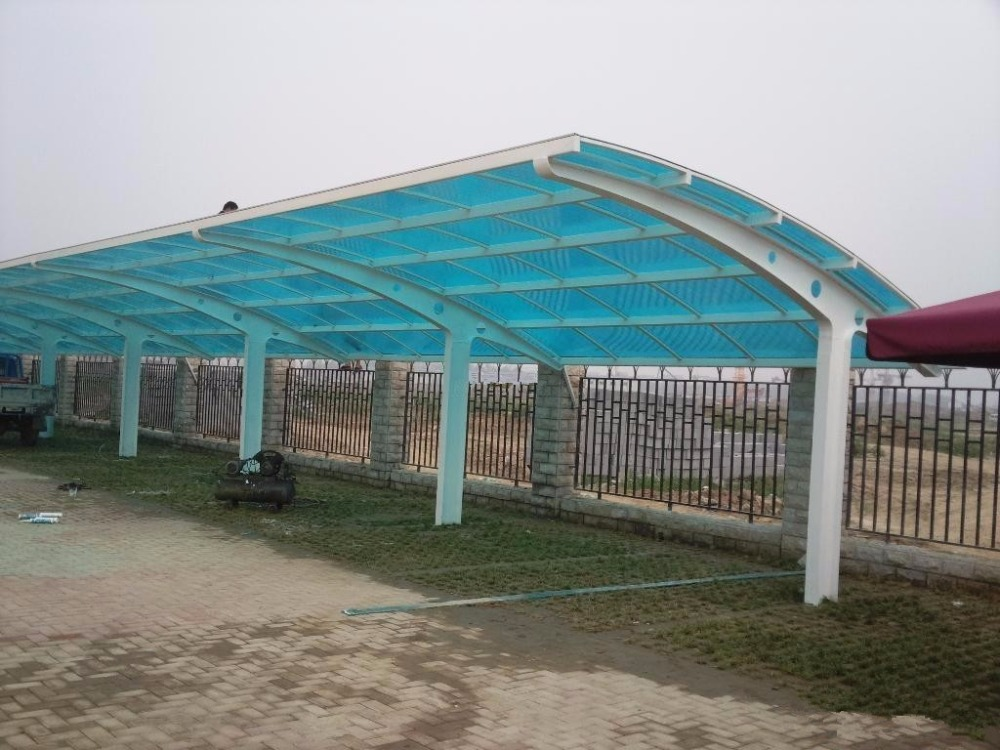 2.9m*11m *6m aluminum carport canopy,sun shade carport,outdoor metal frame carport with arched roof