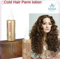 ASIDA 100% Herbal repair straightening cold wave hair perm lotion for curling