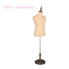 Cheap Upper Body Mannequin Cloth Fiberglass Material With Wood Hands
