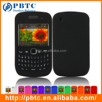 Set Screen Protector And Case , Silicone Case For Blackberry 9300