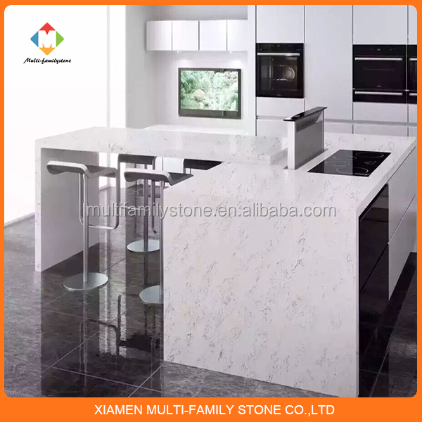 small and home design Quartz stone bar counter design