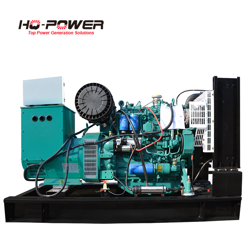 three phase 380 volt magnetic motor 60kva diesel energy generator