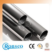 ASTM A 540 TP 201 31.8mm stainless steel pipes polished weled with thickness of 1.5mm