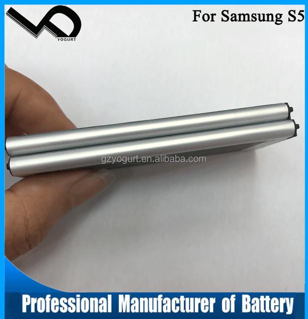 top 100 alibaba china battery gb 18287-2013 3.85v for samsung Galaxy S5 battery
