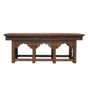 chinese antique beijing furniture carving hallway solid wood console table