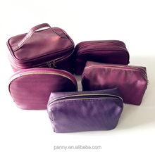 pu travel makeup bags cosmetic bags set