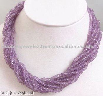Rare Amethyst Necklace-Wholsale Manufacturer-Beads
