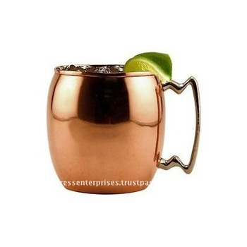 Elegant COPPER MOSCOW MULE MUGS