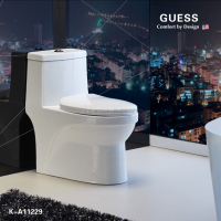 WC/toilet/ one-piece siphonic toilet/toilet seat/guess/K-A11229