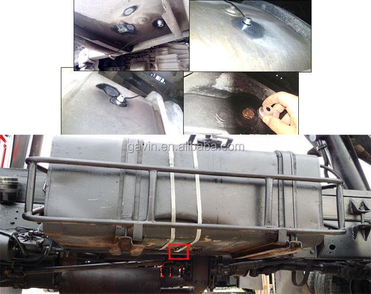 Diesel fuel tank ultrasonic liquid level sensor, View ...