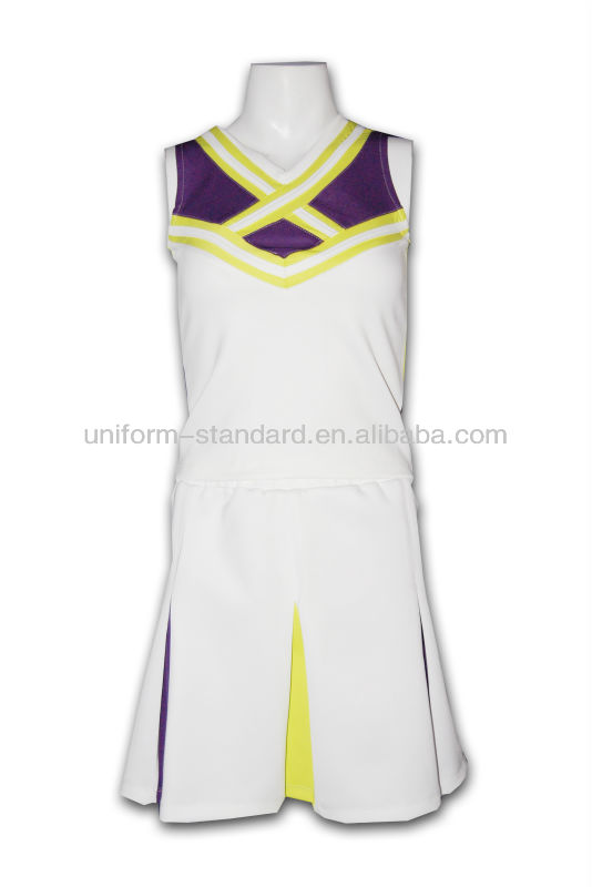 self-made High school ringer cheerleading uniform