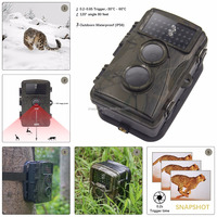Camouflage Digital Hunting Camera 12MP 1080p HD Digital Wildlife Trail Camera Infrared photo-traps Hunting Camera
