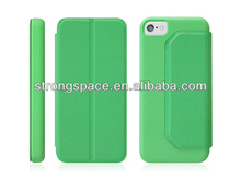 for iphone 5c flip PU leather case