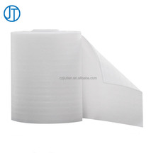 White Color EPE Foam Sheets / EPE Foam Rolls For Furniture Packing