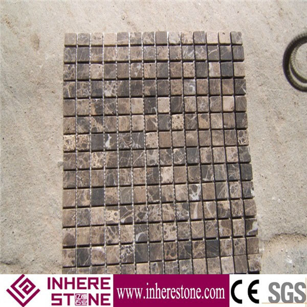 Marble mosaic kitchen back plash wall tiles