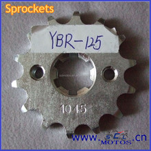 SCL-2012030811 For YAMAHA YBR125 Motorcycle Sprocket And Chain Small