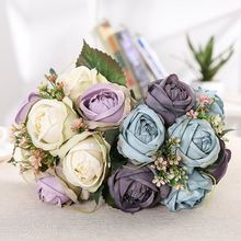 Factory price well made home decoration artificial flowers wedding