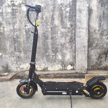10 inch 48V52V60V adult folding Front / rear shockproof electric scooter 2000W dual drive