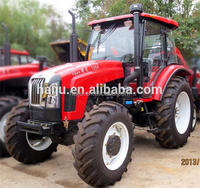 YTO 100hp to 130hp new high quality 4 wheel farm tractor with cabin