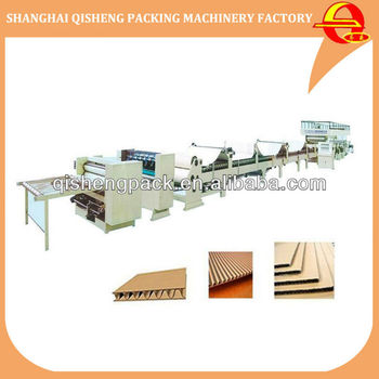 5 layer corrugated cardboard production line machine