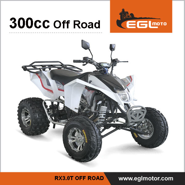 EEC Certified Motor Cycle Four Wheel Atv 300cc