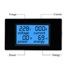 voltage current power and energy four in one digital display power monitor DC/AC meter