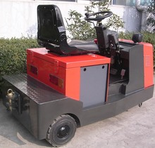 AC drive motor 4ton electric tow tractor made in china with high quality