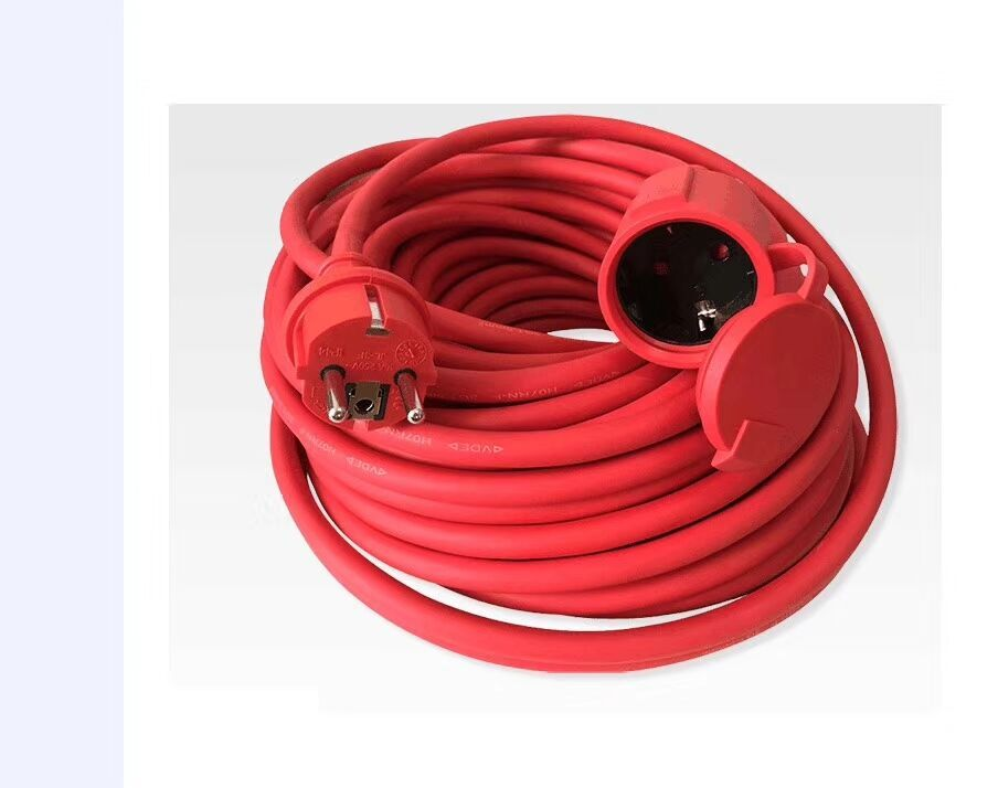 16A 250V EU reed cord extension cord waterproof IP44 <strong>H05RN</strong>-F 3G1.5mm