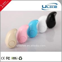 wireless earbud s530,super mini bluetooth mono earphone