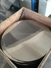 LOW PRICE MAGNETIC 400 SERIES COLD ROLLED STAINLESS STEEL CIRCLE GRADE 410S 410 430 FOR CHINA JIEYANG ORIGIN
