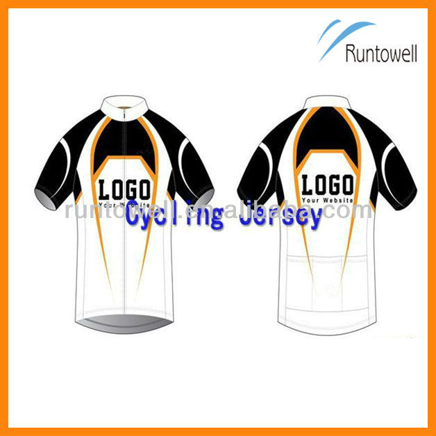 Custom Bike Shirts Sublimated Cycling Performance Wear / cycling wear